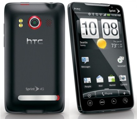 sprint HTC evo