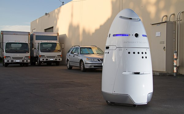 Knightscope K5 Robot Security Guard 2