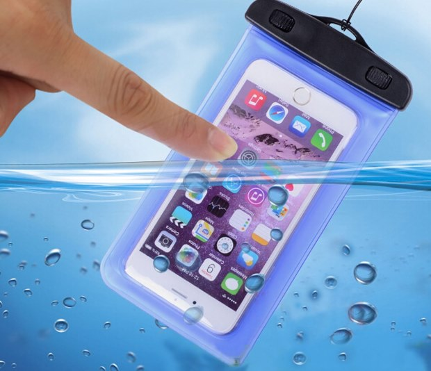 Transparent Waterproof Underwater Pouch Bag Dry Case Cover For Mobile Phone