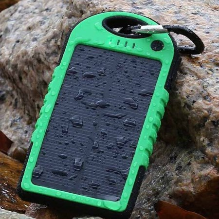 USB Waterproof Solar Power Bank
