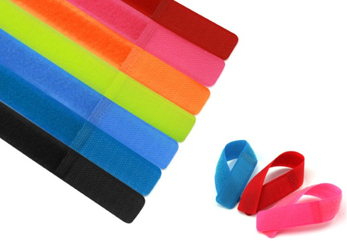 25-50-100Pc-Multi-Function-Colorful-Reusable-Magic-Tape-Cord-Winder-font-b-Cable-b-font