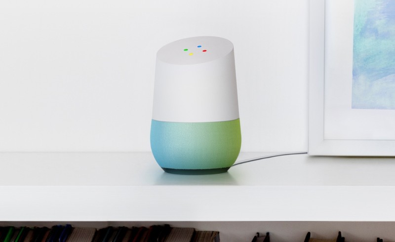 Google Home closer