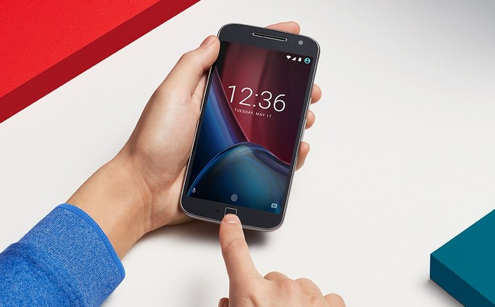 Moto G4 Plus fingerprint