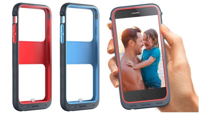 SanDisk's iXpand Memory Case