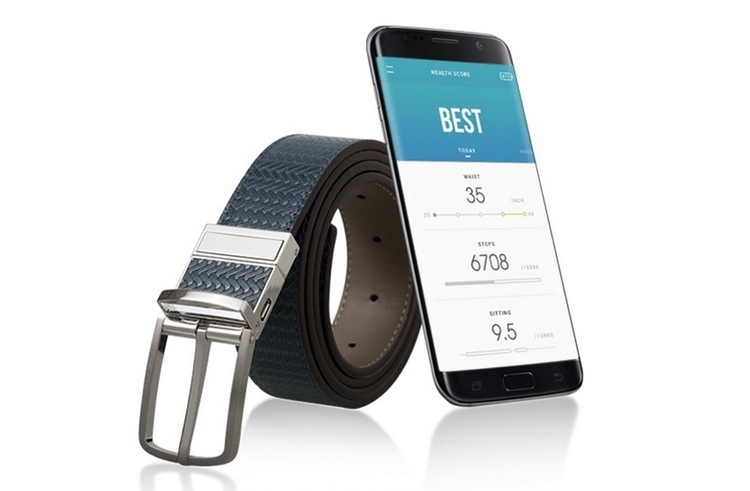 Welt smart belt watches your waist