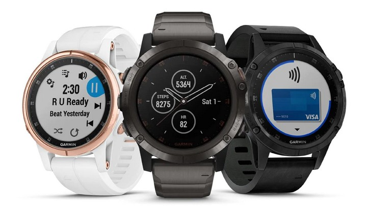 Garmin watch fenix 5 שעון ספורט חכם